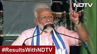 """Election Results: """"India Wins Yet Again,"""" Tweets PM Modi After BJP's Big Victory"""