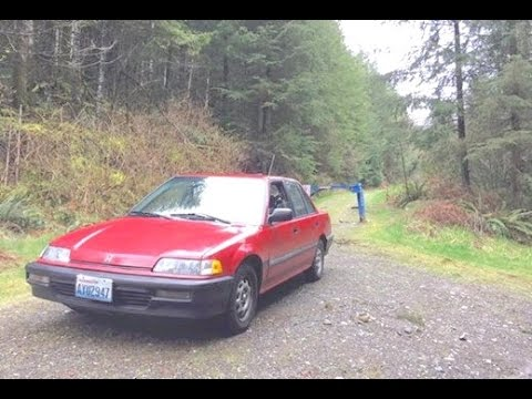 How to Rally a Grocery Getter (stock 91 civic sedan)