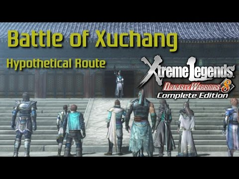 Dynasty Warriors 8 Xtreme Legends | Battle of Xuchang (Jin Hypothetical Route Ep.1)