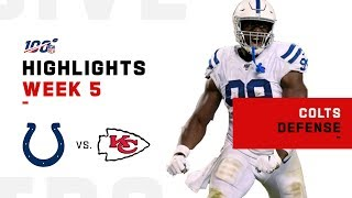 Colts Defense Stuns Chiefs at Home | NFL 2019 Highlights