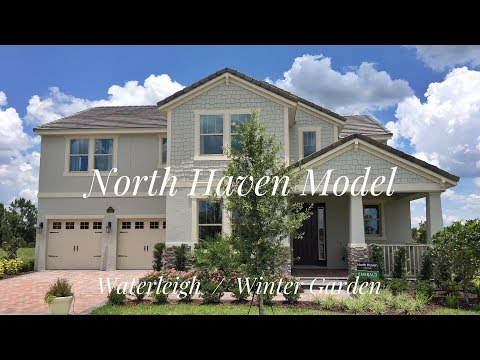 North Haven Model / New Homes Winter Garden | Emerald Homes | Waterleigh