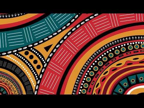 Tribal African Inspired Pattern in Adobe Illustrator