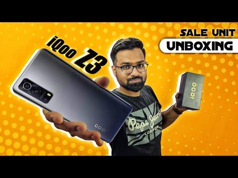 iQOO Z3 5G Unboxing & First Impressions⚡⚡⚡⚡ [ Sale Unit ]
