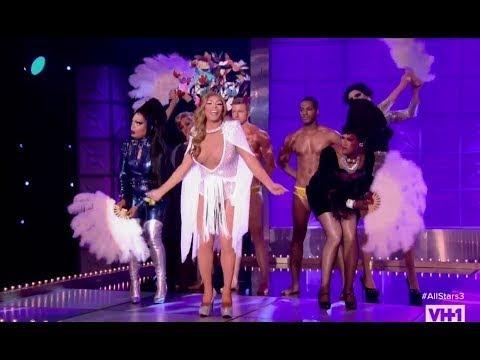 Rupauls Drag Race Allstars 3 - Shangela's Mariah Carey Vh1 Divas Performance