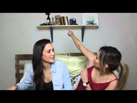 OU Scandal, Speakin Spanish, Girl Crushes ETC | Q&A (Subtitulado) Shannon & Cammie