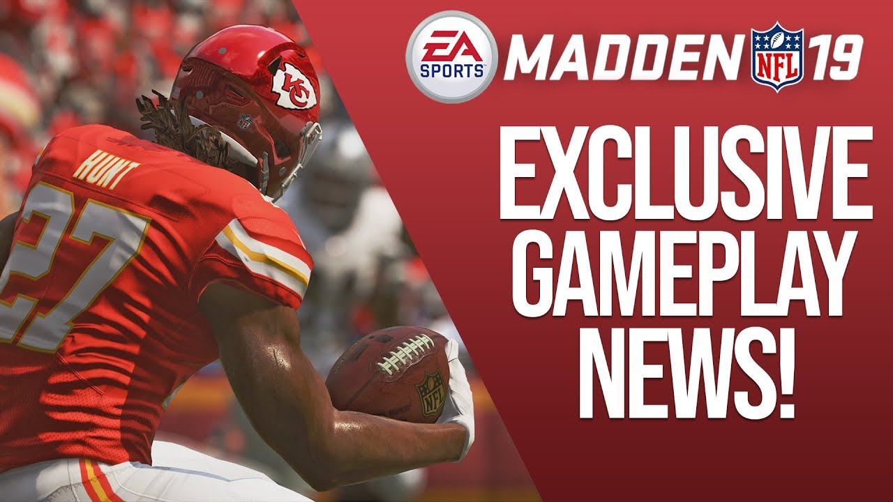 Madden 19 Gameplay Improvements/Features Revealed