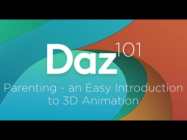 Daz 3D Tutorial: Parenting - an Easy Introduction to 3D Animation