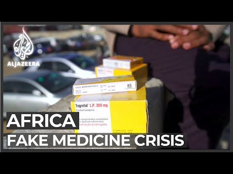 'Hundreds Of Thousands' Killed By Counterfeit Medicine In Africa