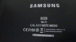 видео Подделка планшета Samsung Galaxy Note N8000 64Gb