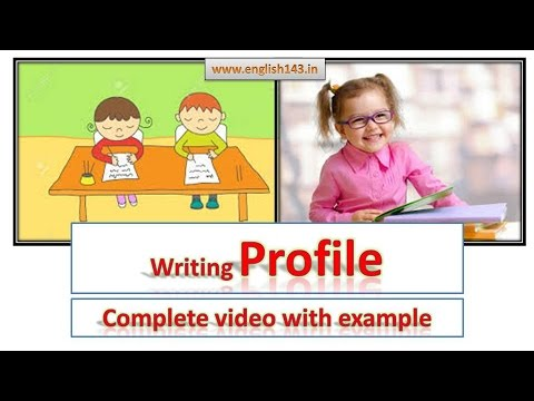 how to write a profile for a dating agency