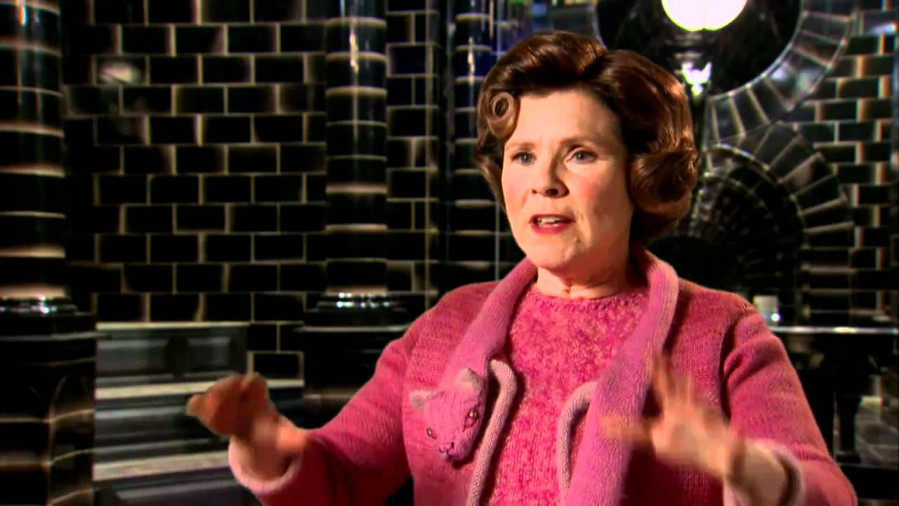 Imelda Staunton: Harry Potter and the Deathly Hallows Interview ...