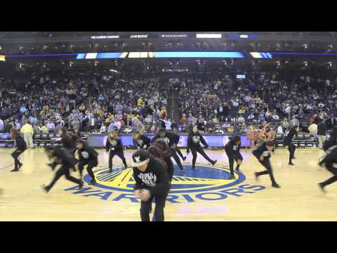 Golden State Warriors Vs New Orleans Pelicans | Chapkis Dance Family CDF | Half Time Show