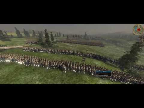 Empire Total War Colonialism 1600AD Swedish VS Russia 9000 VS 25500
