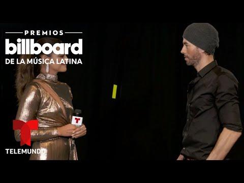 Premios Billboard 2020: Enrique Iglesias habla de sus hijos