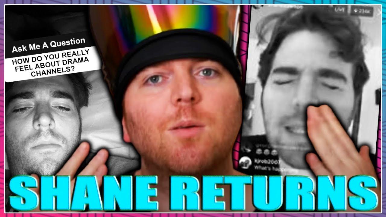 Shane Dawson RETURNS To DRAG Drama Channels