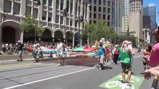 San Francisco Pride Parade 2014 SWANABAQ South West Asian & North African Bay Area Queers