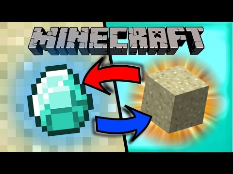 If Diamonds and Sand Switched Places - Minecraft