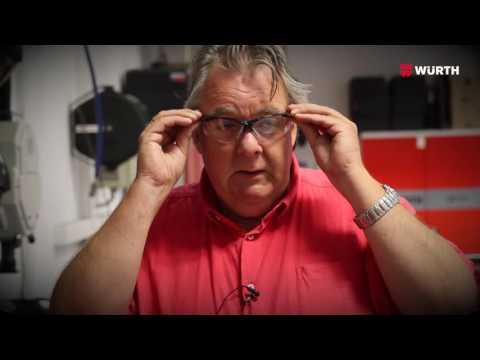 581900591 Vernebrille med styrke - Würth Norge - YouTube
