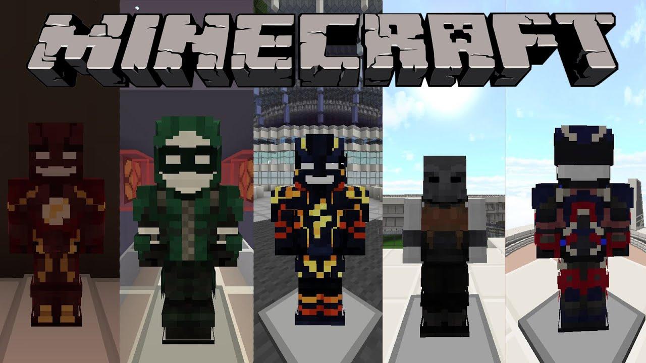Сервера Майнкрафт с Супергероями