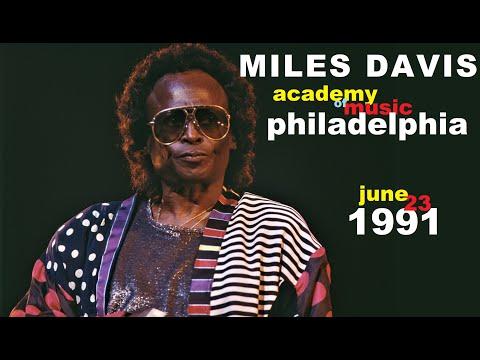 Miles Davis- June 23, 1991 Academy of Music, Philadelphia