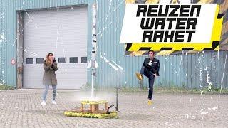 REUZEN WATERRAKET! - GROTER IS BETER
