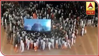 Karnataka: Students recreate Babri Masjid demolition, video goes viral