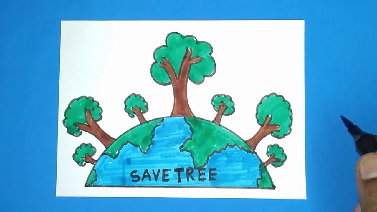 How To Draw Save Tree Drawing Easy Save Earth Drawing For Kids Youtube The only thing we'll assume is. how to draw save tree drawing easy save earth drawing for kids