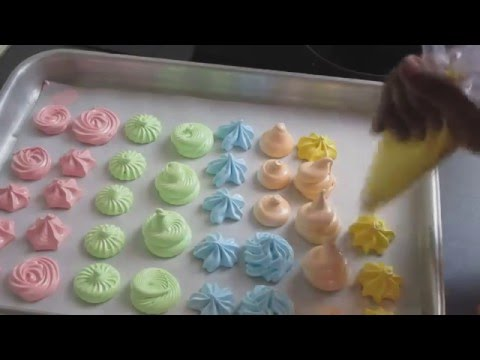 how to make meringue video