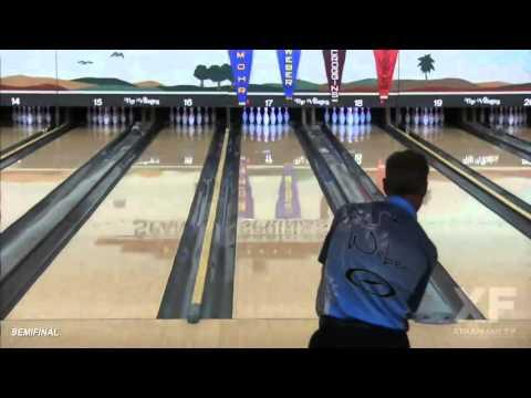 Pete Weber Strikes During PBA50 Sun Bowl Stepladder Finals