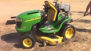 Getting a John Deere L130 Lawn Tractor Going Again