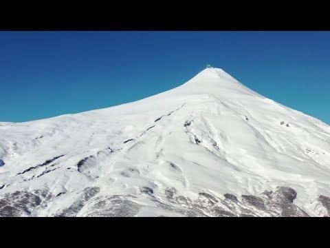 ¡Así se ve el cráter del Volcán Villarrica! | Ruta 5