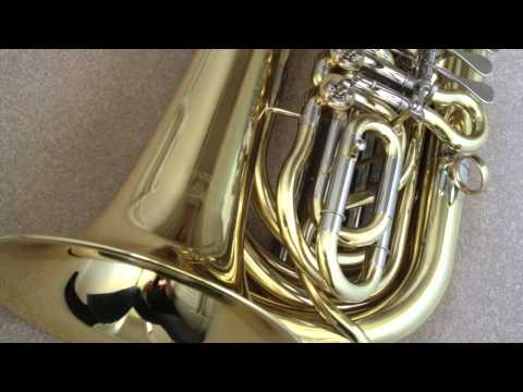 Wessex Tubas BBb travel tuba 'Mighty Midget' - demonstration