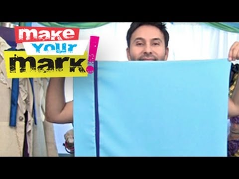 How To Make a Pillow Case DIY (3 simple stitches)