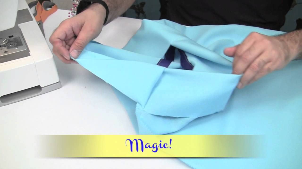 How To Make a Pillow Case DIY (3 simple stitches) - YouTube
