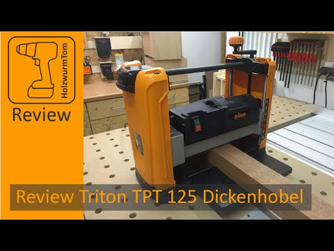 Хобел машина TPT125 1100W video
