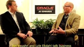 Jon Vaughn (Quest) and Lyle talk about JD Edwards Growth, Success, Keeping Customer Focus and Quest
