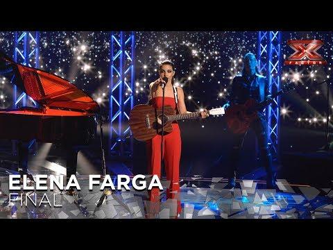 Elena Farga deja a todos K.O. con una sorpresa | Gran Final | Factor X 2018