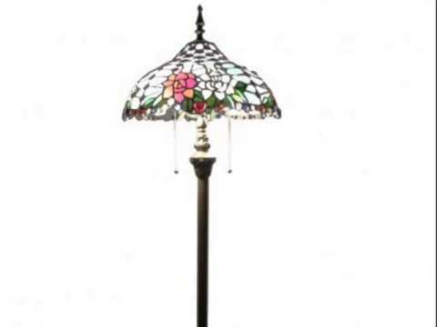 Tiffany Style Floor Lamps Show