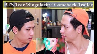 BTS 방탄소년단 LOVE YOURSELF 轉 Tear 'Singularity' Comeback Trailer REACTION