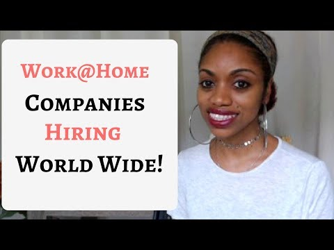 10 Good Paying GLOBAL Work From Home Companies. Now Hiring.