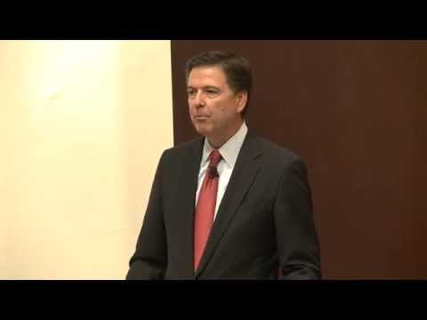 "James B. Comey, '85: ""Law Enforcement and the Communities We Serve"""