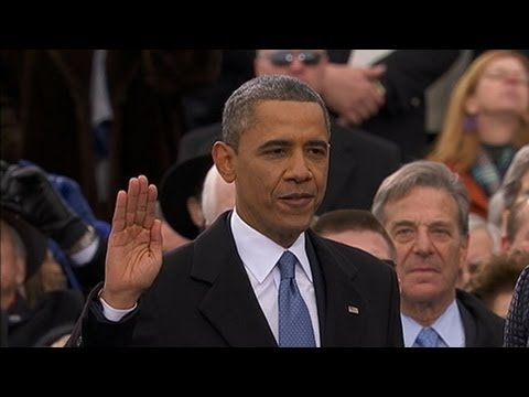 Inauguration 2013: President Obama Takes Oath Of Office