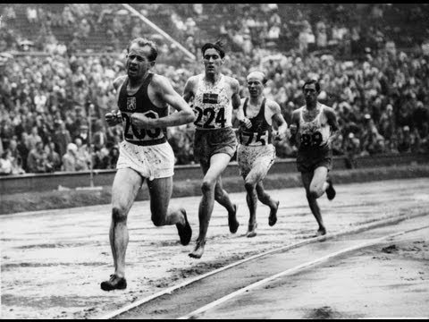 Emil Zátopek Adds 10,000m Gold To His Legend - London 1948 Olympics