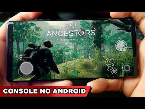 Saiu NOVO App Estilo NVIDIA GAMES Funcionando Jogos De CONSOLES NO ANDROID