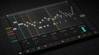 FUGUE MACHINE | Multi-Playhead Sequencer for iPad (Bach Melody)