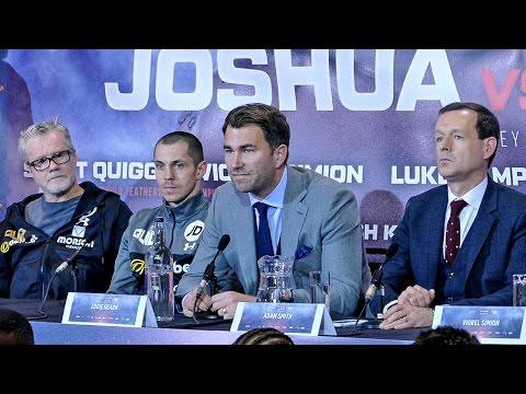 ANTHONY JOSHUA vs WLADIMIR KLITSCHKO | Undercard Press Conference