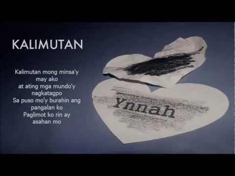 KALIMUTAN (Lyrics) - Ynnah