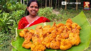 Cauliflower Pakoda/Pakora | Cauliflower Pakora by My Aunty | Fulkopi Pakora Recipe | Village Kitchen