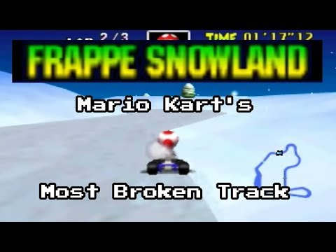 Frappe Snowland: The History of Mario Kart 64's Most Broken Track