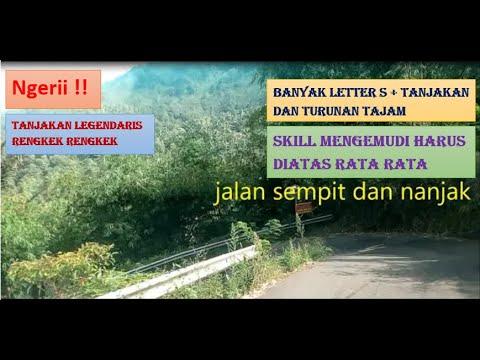 Ngeri!! ROAD TRIP Jalur Ekstrim Munjungan Trenggalek - Part 1
